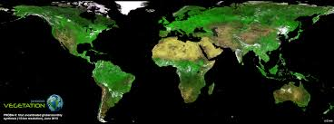 Earth Globe Map World by Tiny New Satellite Produces Beautiful Global Vegetation Map