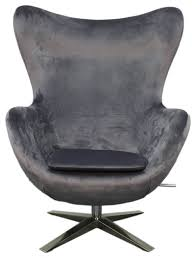 Gray Rocking Chair Max Fabric Swivel Rocker Chair Contemporary Rocking Chairs