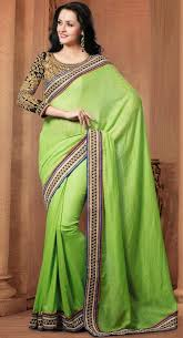 Buy Green Plain Cotton Silk 85 Best Sarees Images On Pinterest Indian Wear Saree Blouse And