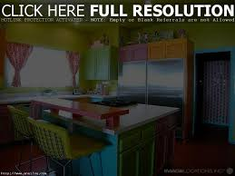 living lovable colorful kitchen ideas on interior decorating