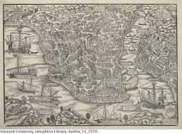 Harvard Map Map Of Constantinople 15th Century The Urban Imagination