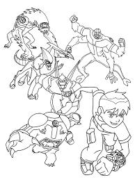ben 10 coloring pages shimosoku biz