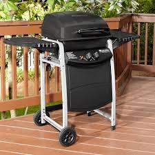 bbq pro 2 burner lp gas grill with large side shelves shop your