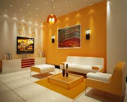 best decorations interior trendy best small living room designs 27 orange with