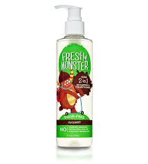 amazon com fresh monster kids shampoo u0026 body wash ocean splash