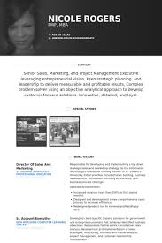 Resume Templates Sales Sales And Marketing Resume Samples Visualcv Resume Samples Database