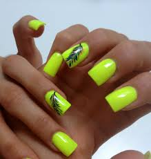 17 unique neon nail designs for 2017 neon nails neon and feathers