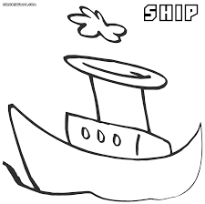 ship coloring pages coloring pages to download and print