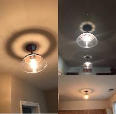 claxy ecopower vintage metal u0026 glass ceiling light 1 lights