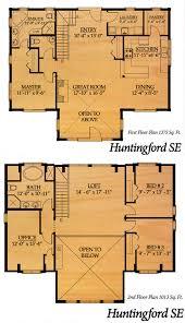 True Homes Floor Plans Huntingford Se By True North Log Homes