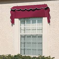 Cloth Window Awnings Retractable Canvas Window Awnings