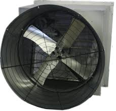 36 inch exhaust fan airflo agricultural slantwall coned exhaust fan 36 inch 11648 cfm 1