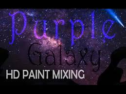 hd paint mixing u0027galaxy purple u0027 colour youtube