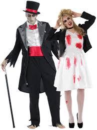Halloween Costumes Bride Groom Mens Ladies Corpse Groom Bride Zombie Halloween Fancy Dress