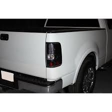 2004 f150 tail lights 04 08 ford f150 styleside euro led tail lights chrome 111 ff15004