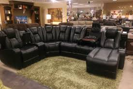 Black Leather Sofa Recliner Furniture Appealing Stunning Black Leather Sofa Synergy
