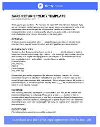privacy policy sample template