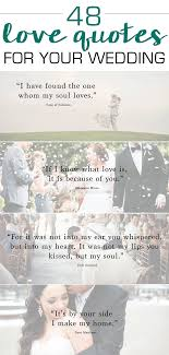 wedding quotes quotes 48 quotes and how to use them in your wedding printing
