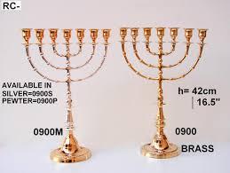 menorah 7 branch brass 7 branch menorah meir cohen ltd