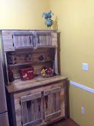 Kitchen Hutch Furniture - kitchen hutch made from pallets
