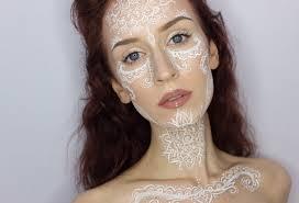 henna makeup attempt at henna mandala inspired makeup i got a