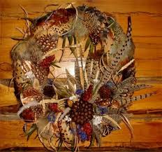 turkey feather wreath pheasant feather wreath changer taxidermy llc