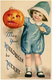 adorable vintage halloween image the graphics fairy