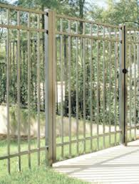 aluminum ornamental fence products fencing direct fencing