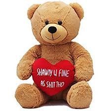 valentines day teddy bears hollabears large shawty u as tho teddy