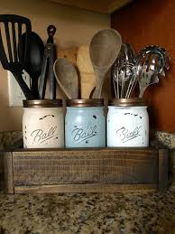 kitchen utensil holder ideas you can add a personalized stencil handles or change up the