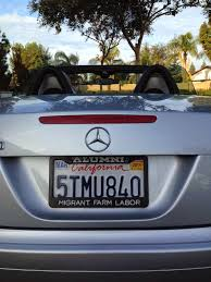 sdsu alumni license plate frame bakersfield observed 2014 11 16