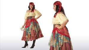 Gypsy Halloween Costume Kids Size Fortune Teller Costume
