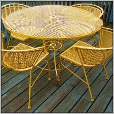Antique Cast Iron Patio Furniture Vintage Cast Iron Patio Table And Chairs Chairs Home