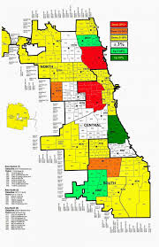 Zip Code Map Chicago by Chicago Crime Map Chicago Police Crime Map United States Of