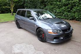 Mitsubishi Evo 9 Mr Gt Wagon Manual Grey Mitsubishi Lancer