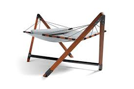 luxury quilted hammock with stand double u2013 lujo living