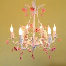 High Quality Chandeliers High Quality Products Pastoral Style Flower Iron 220v