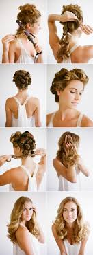 diy wedding hair wedding hairstyles for hair tutorial once wed