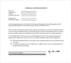 33 acknowledgement letter templates u2013 free samples examples