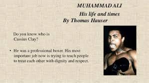 muhammad ali brief biography muhammad ali his life and times