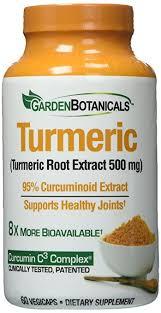 Garden Botanicals Garden Botanicals Capsules Turmeric 60 Count Health