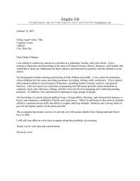example of cover letter for teacher cover letter examples for