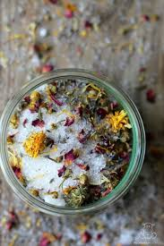 homemade bath salts recipe how to make relaxation in a jar