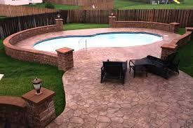 building an inground pool round designs
