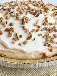 no bake layer pumpkin spice pudding pie together as family