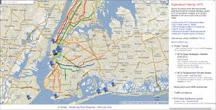 Nyc Subway Map App by Google Maps Gets Updated To Show Post Sandy Damage And Live