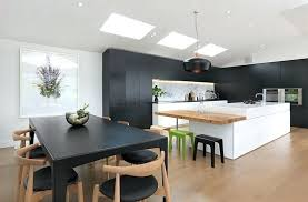 black gloss kitchen ideas black kitchen ideas inspired black and white kitchen designs 5