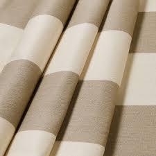 Regency Stripe Upholstery Fabric Sunbrella 5695 0000 Regency Sand 54