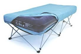 interesting folding air bed frame with portable bed frame for air