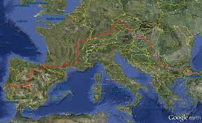 Europe Google Maps by The Route Tom U0027s Next Step